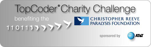 TopCoder Charity Challenge benefiting the CRPF;T