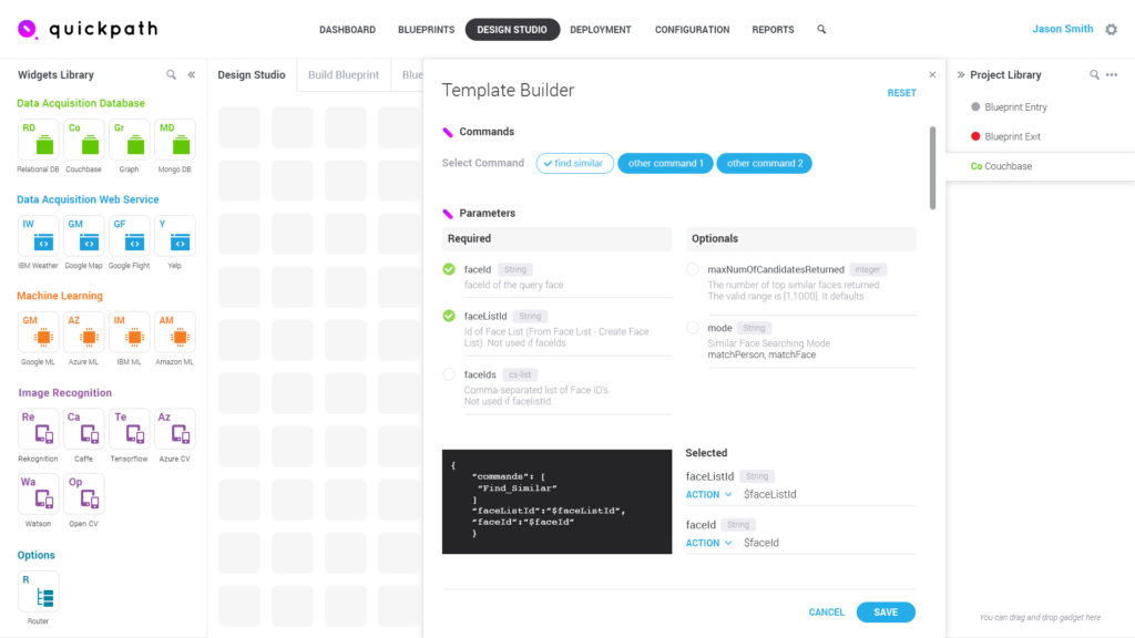 Creating a drag and drop design studio for quickpath analytics our development team was able to wire our backend platform into the newly delivered ui within ten days and weve recently launched quickpath analytics as malvernweather Images