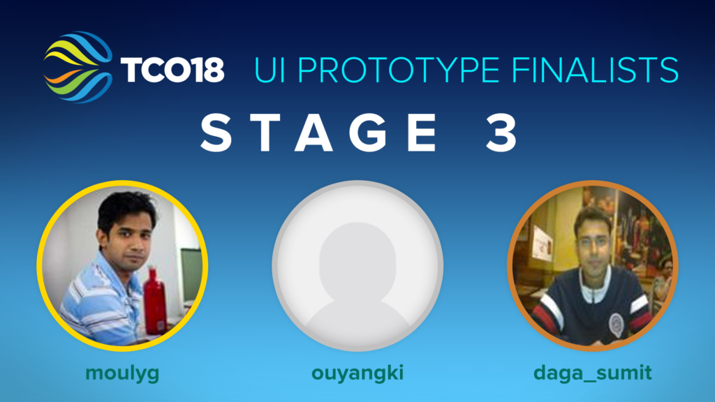 Stage 3 Prototype Finalists