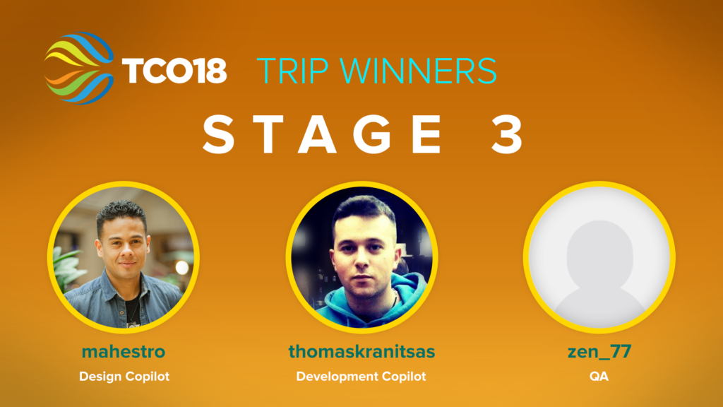 Stage 3 Trip Winners